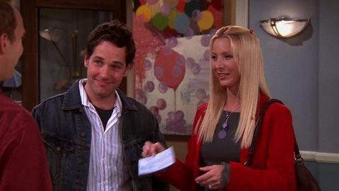 Friends' Phoebe could've had a different romantic ending