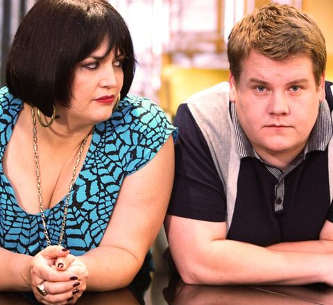 James Corden shares first picture from Gavin and Stacey Christmas special rehearsals