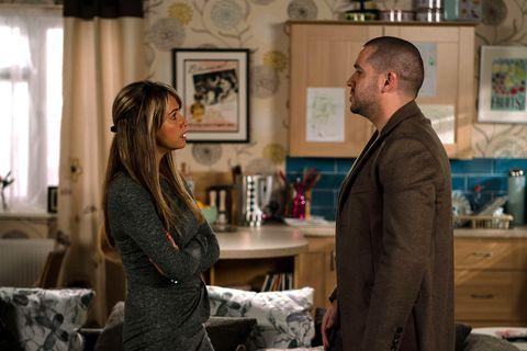 EMBARGO 26/11/2016  Maria orders Aidan to leave