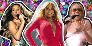 Mariah Carey, over the years