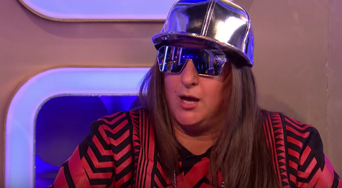 Honey G on the Xtra Factor after elimination