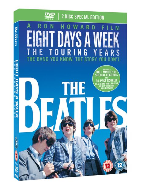 The Beatles: Eight Days A Week DVD cover.