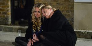 Roxy Mitchell and Ronnie Mitchell have a heart-to-heart in EastEnders