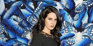 LONDON, ENGLAND - FEBRUARY 17: (EMBARGOED FOR PUBLICATION IN UK TABLOID NEWSPAPERS UNTIL 48 HOURS AFTER CREATE DATE AND TIME. MANDATORY CREDIT PHOTO BY DAVE M. BENETT/GETTY IMAGES REQUIRED) Lana Del Rey attends the Mulberry Autumn Winter 2013 show during London Fashion Week at Claridge's Hotel on February 17, 2013 in London, England.
