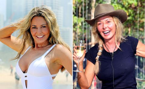 Carol Vorderman, I'm A Celebrity, before and after