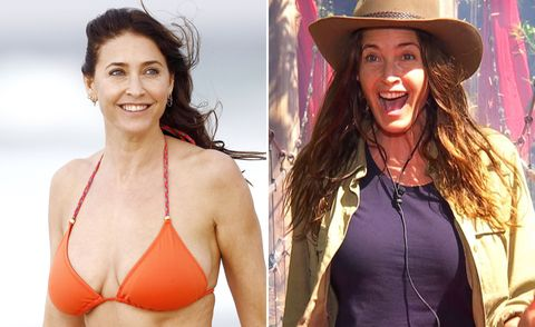 Lisa Snowdon, I'm A Celebrity, before and after