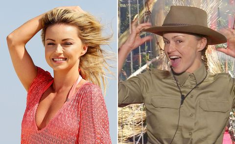 Ola Jordan, I'm A Celebrity, before and after