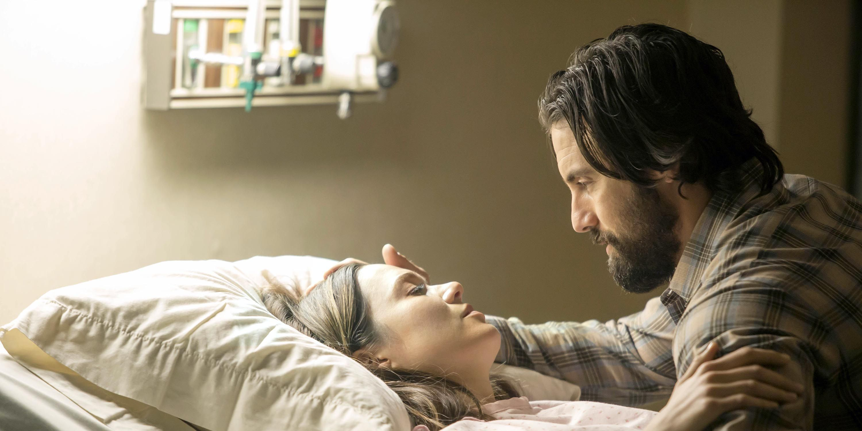 Mandy Moore and Milo Ventimiglia in 'This Is Us'