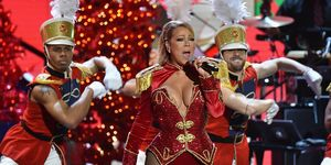NEW YORK, NY - DECEMBER 02: Mariah Carey performs onstage during 2016 VH1's Divas Holiday: Unsilent Night at Kings Theatre on December 2, 2016 in New York City.
