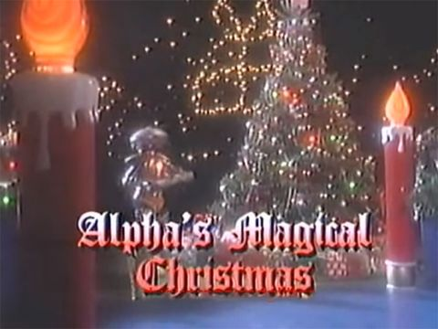 Power Rangers Christmas Tree.6 Utterly Bizarre Christmas Tv Specials From Power Rangers