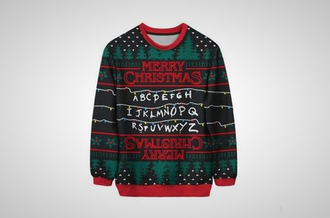 Stranger Things Christmas jumper
