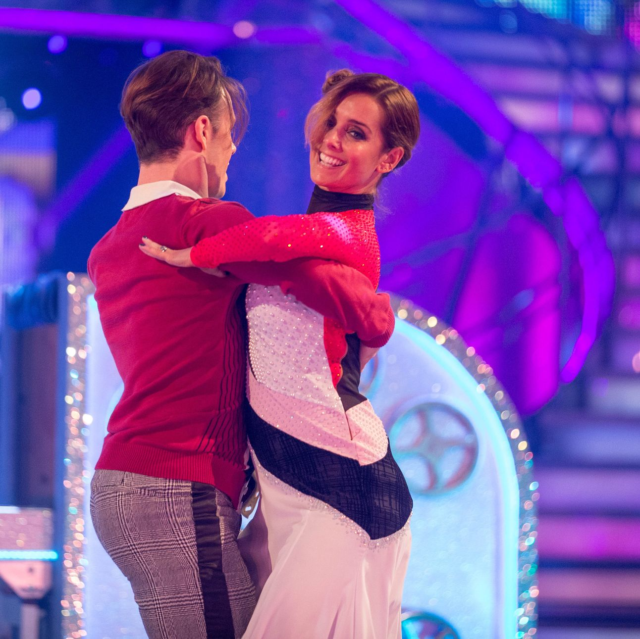 Strictly Come Dancing's Louise Redknapp denies the BBC show split up her marriage