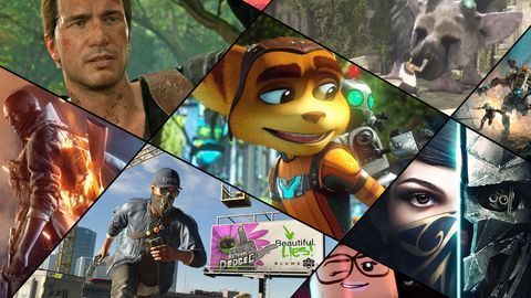 Best Ps4 Games 2016 Top Games To Play On Ps4 This Year