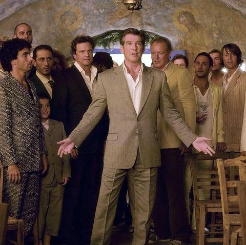 Pierce Brosnan in Mamma Mia