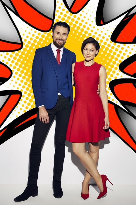 d382916a3b3 Celebrity Big Brother January 2017 hosts Rylan Clark-Neal and Emma Willis