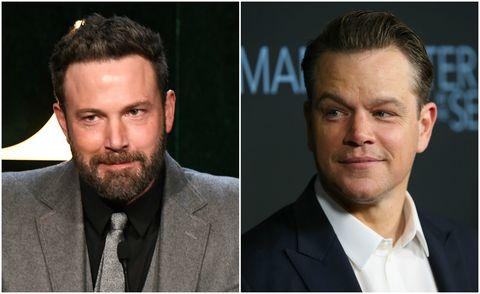 Ben Affleck and Matt Damon side by side