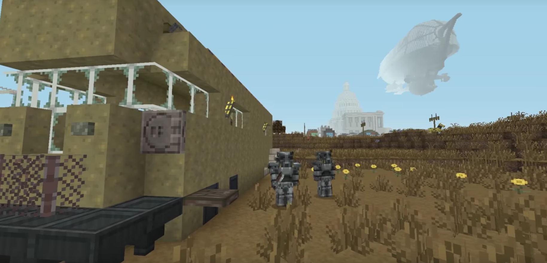 Fallout Comes To Minecraft In New Add On Pack