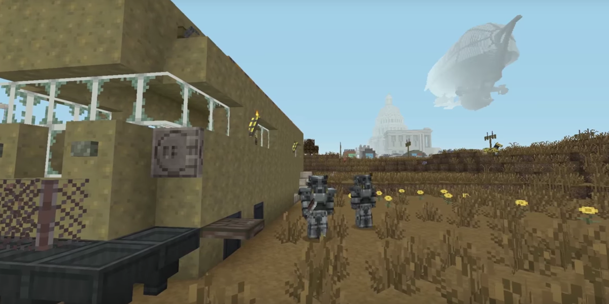 Fallout comes to Minecraft in new add-on pack