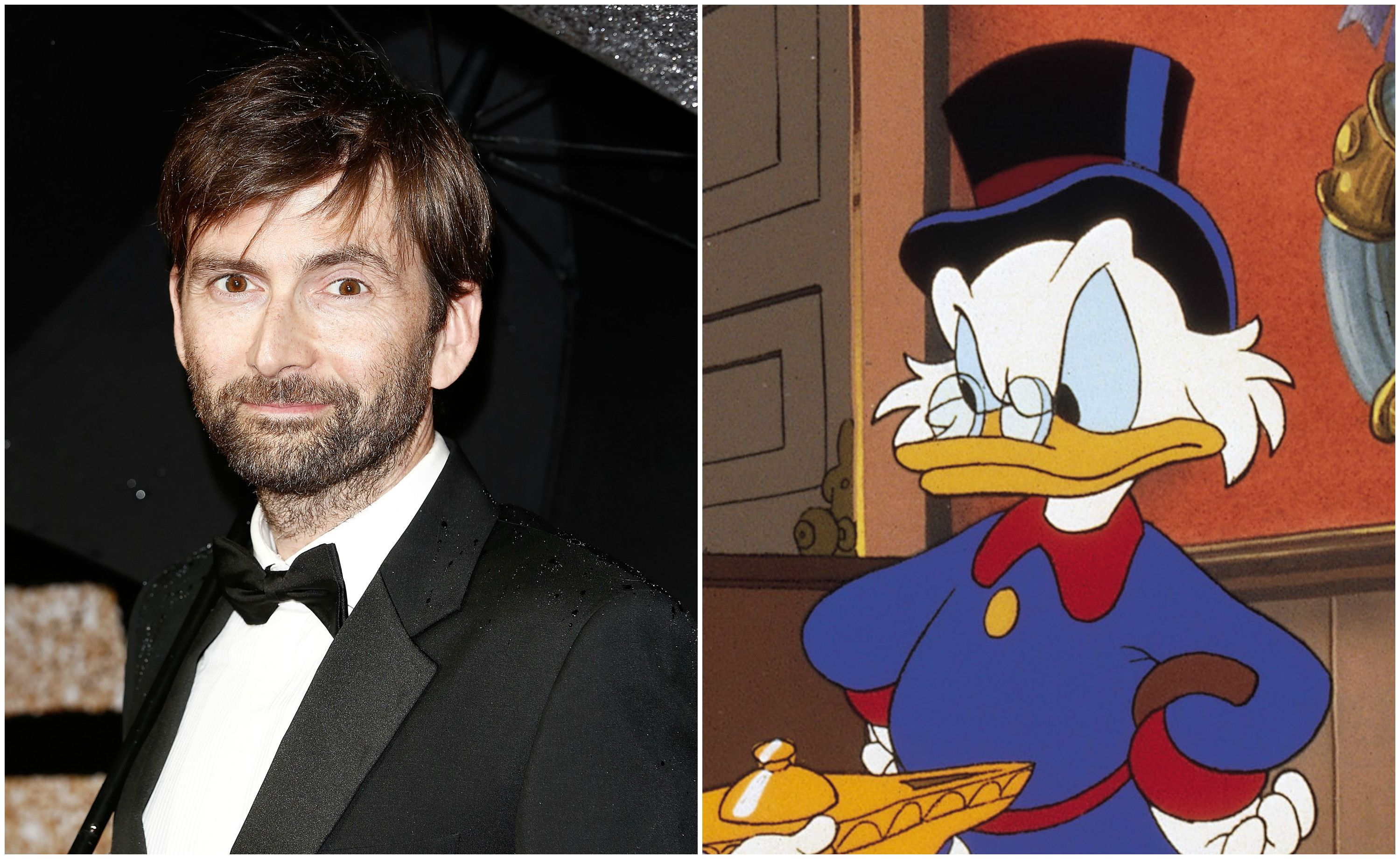 Oh yes! David Tennant is going to voice Scrooge McDuck in a