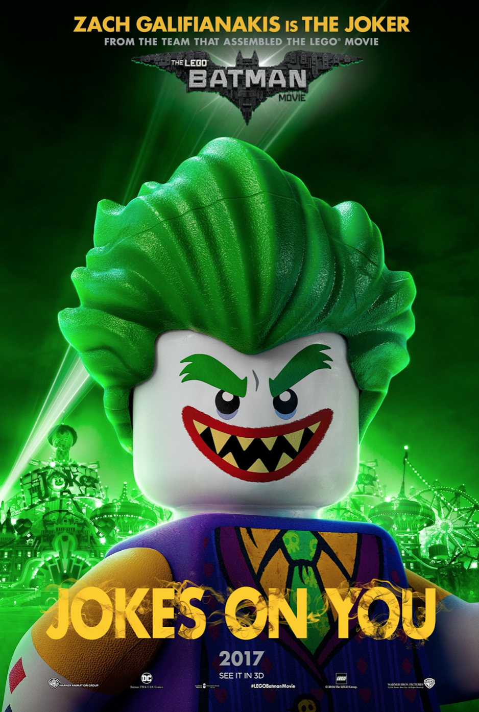 The Joker Harley Quinn And Robin Are Adorably Fierce In New Lego Batman Movie Posters