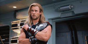Chris Hemsworth as Thor in Avengers