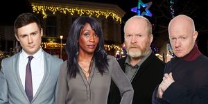 Eastenders Christmas episodes, Lee Carter, Denise Fox, Phil Mitchell, Max Branning