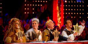 Strictly Come Dancing Christmas: Craig Revel Horwood, Darcey Bussell, Len Goodman, Bruno Tonioli