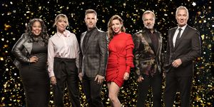 Let It Shine: Amber Riley, Mel Giedroyc, Gary Barlow, Dannii Minogue, Graham Norton, Martin Kemp