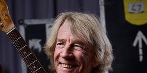 Status Quo guitarist Rick Parfitt portrait, November 2015