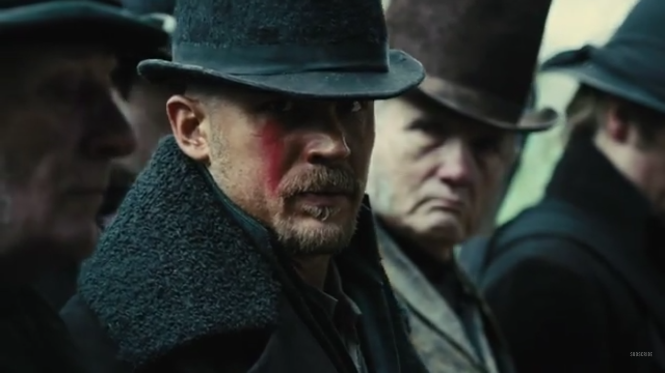 Tom Hardy in Taboo trailer