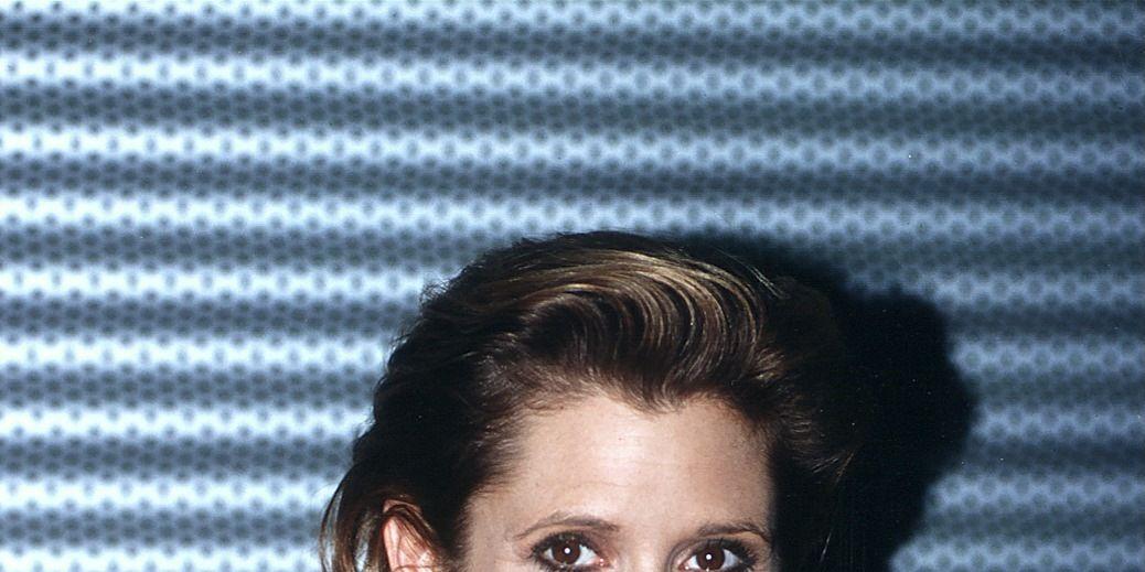 Carrie Fisher portrait taken in 1995