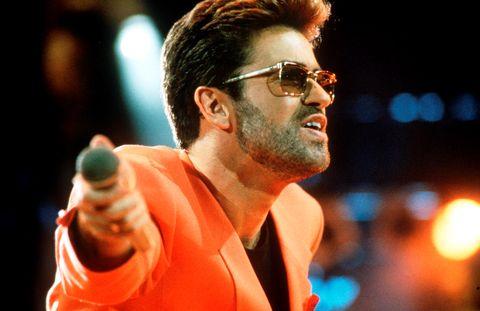George Michael at the Freddie Mercury Tribute Concert, 1992