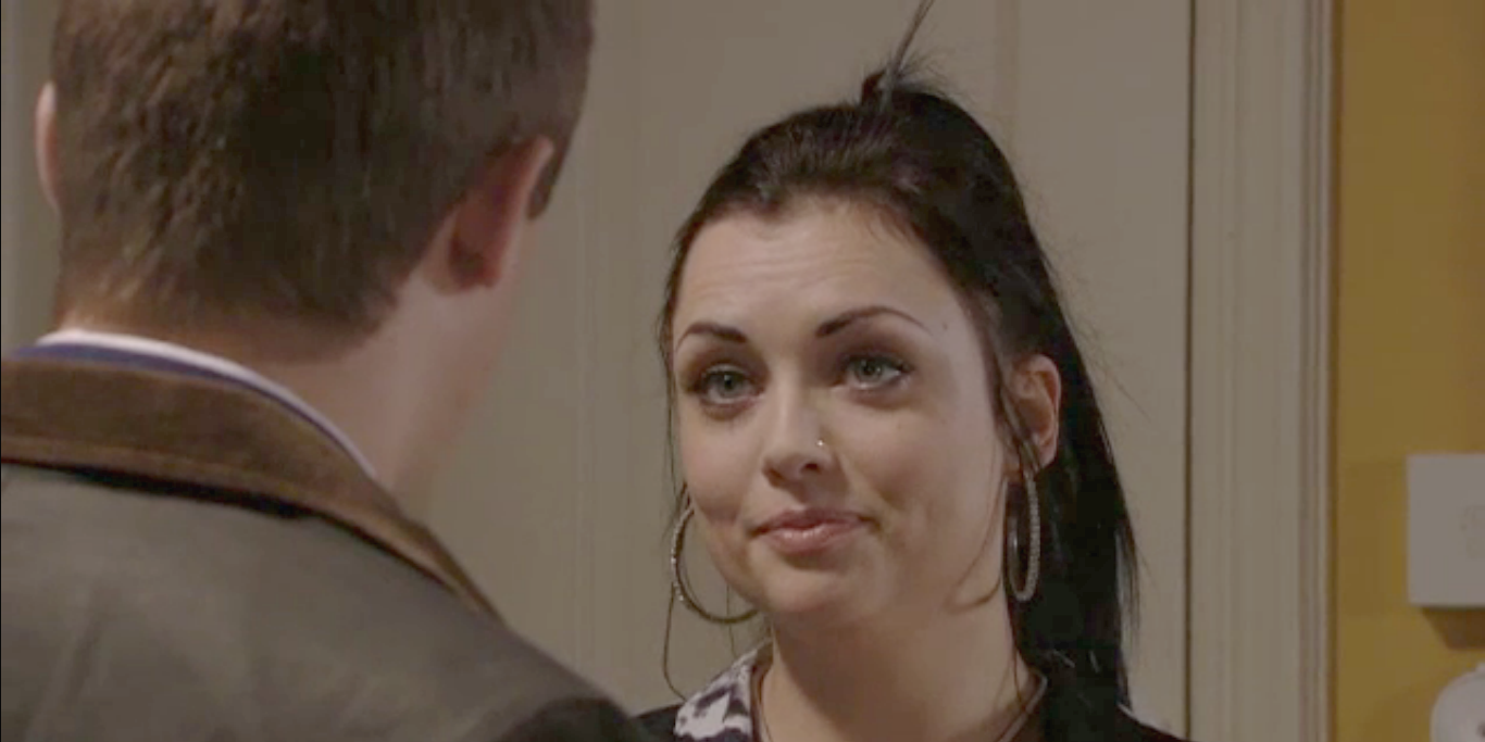 Whitney Carter tells Lee she might be pregnant in EastEnders