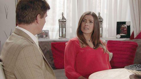 Robert Preston confesses his love for Michelle Connor in Coronation Street