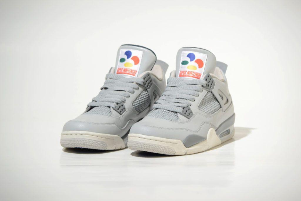 Nintendo-themed Air Jordans now exist