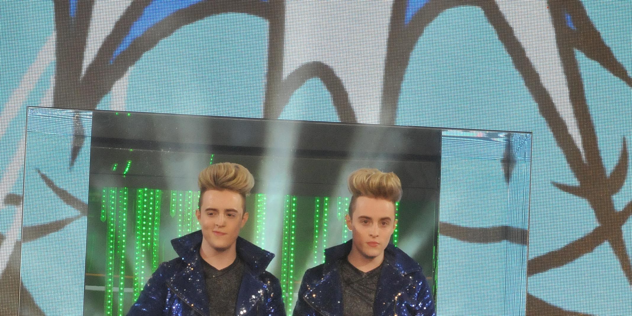 Celebrity Big Brother Day 3: Jedward entering the house