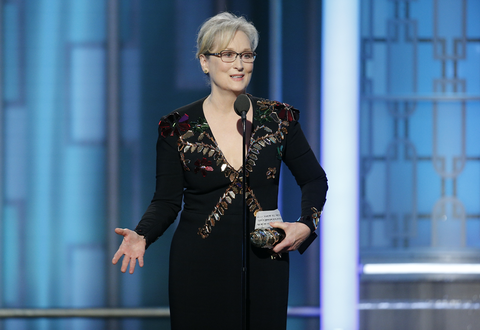 Golden Globes 2017: 'Dame' Meryl Streep is crowned Queen of