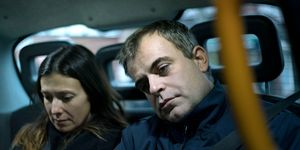 Michelle Connor and Steve McDonald return home after losing their baby in Coronation Street