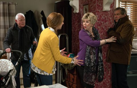 Embargo 17/1 Laurel's worried to learn what's happened with Ashley in Emmerdale