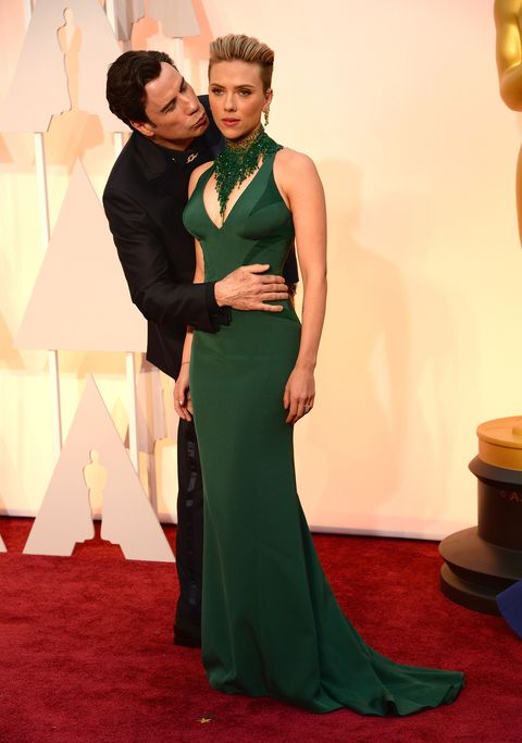 <p>John Travolta caused a stir when he&nbsp;perved&nbsp;all over an unimpressed&nbsp;Scarlett Johansson at the Oscars&nbsp;2015.</p>