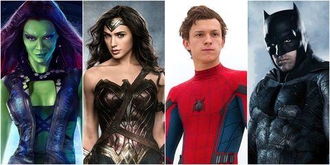 Superhero movie release list