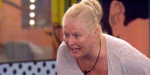 Kim Woodburn on Celebrity Big Brother 1/17