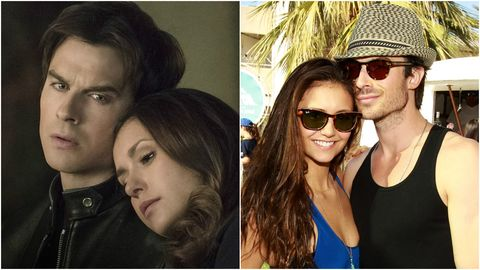 Elena and damon dating in real life