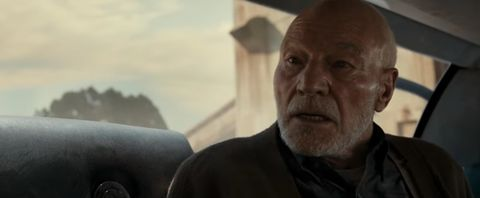 Here's why Patrick Stewart's Professor X has hair in Logan