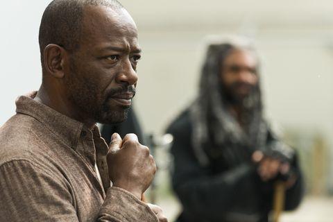 Morgan (Lennie James) in 'The Walking Dead'