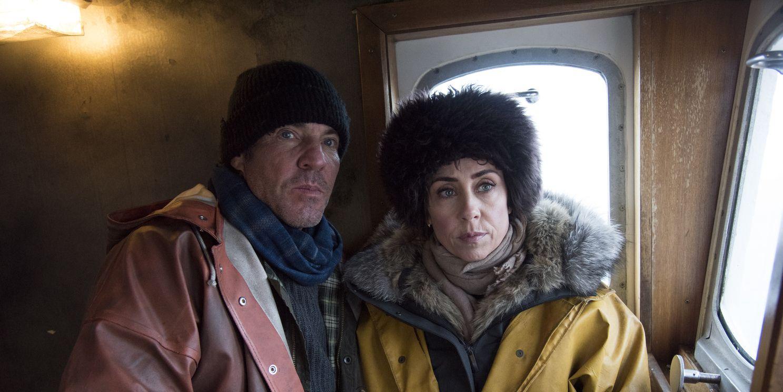 Dennis Quaid and Sofie Grabol in 'Fortitude'