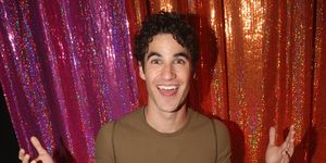 Darren Criss poses at the 'NBC presents Hairspray Live' After Party