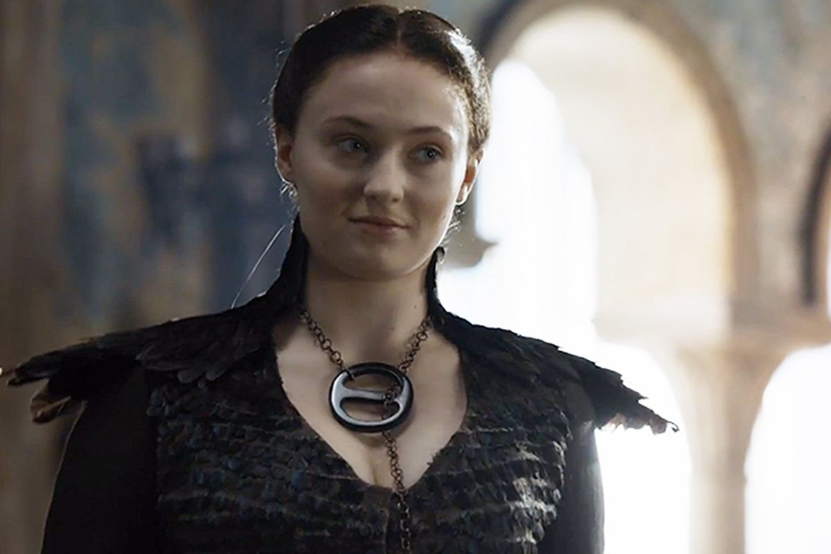 Image result for sansa smile after ramsay death