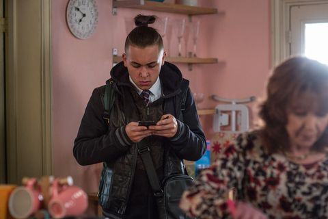 Shakil Kazemi makes a discovery in EastEnders