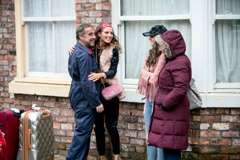 Sophie and Rosie Webster return to Coronation Street